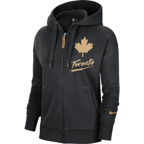 Raptors Nike Ladies 2020 City Full Zip Hoody