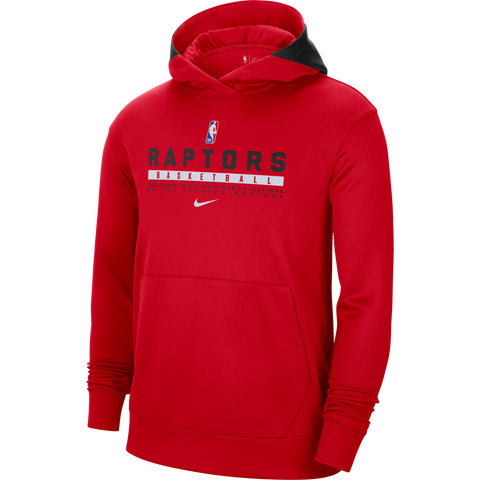Raptors Nike Men's Authentic Spotlight Hoody - Red