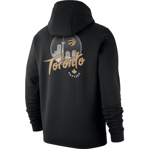 Raptors Nike Men's 2019 City Club Fleece Logo Hoody