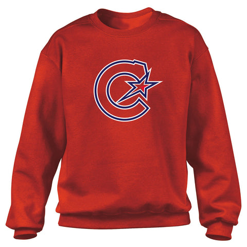 Montreal Les Canadiennes Men's Red Crew Sweater
