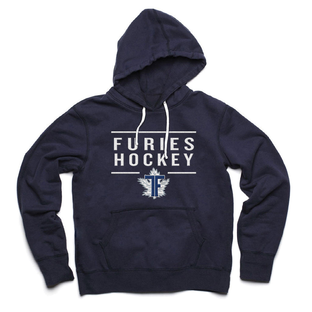 Toronto Furies Adult Navy French Terry Fashion Hoody - shop.realsports