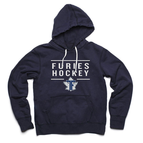 Toronto Furies Adult Navy French Terry Fashion Hoody