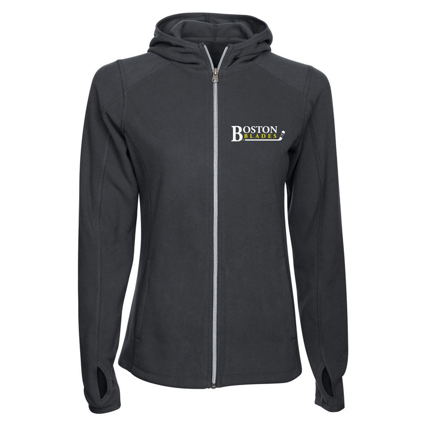 Boston Blades Ladies Fleece Jacket - shop.realsports