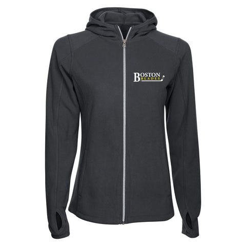 Boston Blades Ladies Fleece Jacket