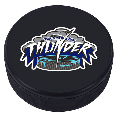 Brampton Thunder Collectible Puck