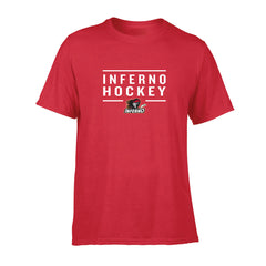 Calgary Inferno Men's Red S/S Tee - shop.realsports