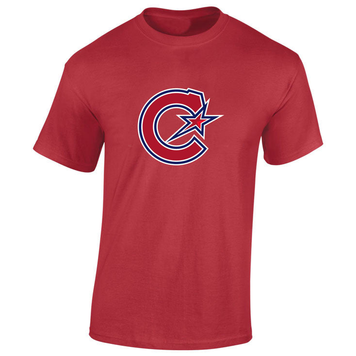 Montreal Les Canadiennes Men's Red T Shirt - shop.realsports