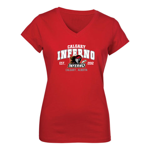 Calgary Inferno Ladies S/S Tee
