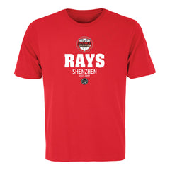 Vanke Rays Adult Red S/S Tee