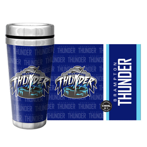 Brampton Thunder Travel Mug Full Wrap