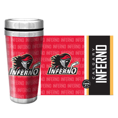 Calgary Inferno Travel Mug Full Wrap - shop.realsports