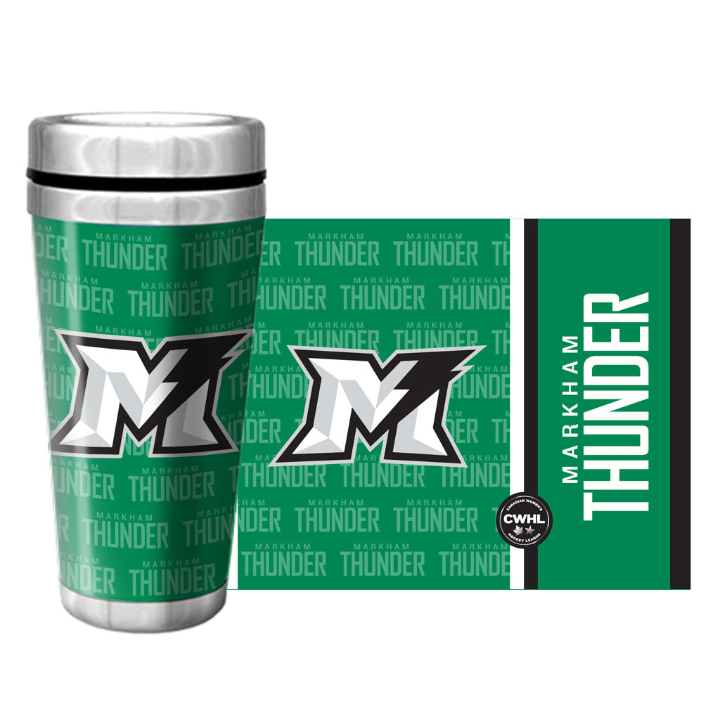 Markham Thunder 16oz. Stainless Steel Travel Mug