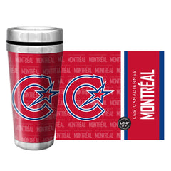 Montreal Les Canadiennes Travel Mug Full Wrap - shop.realsports