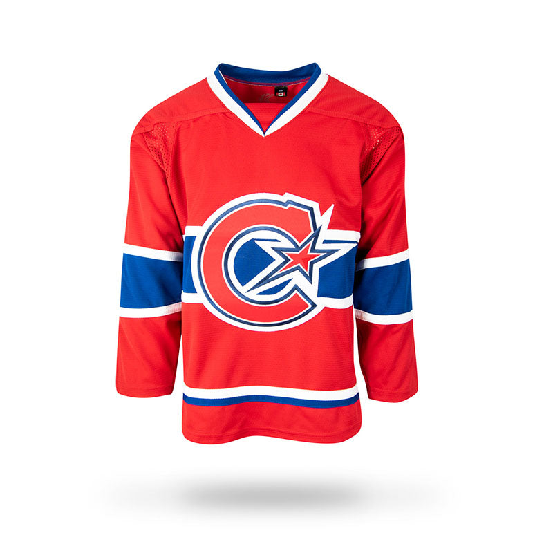 Montreal Les Canadiennes Adult Home Jersey – shop.realsports d43adb81f3e