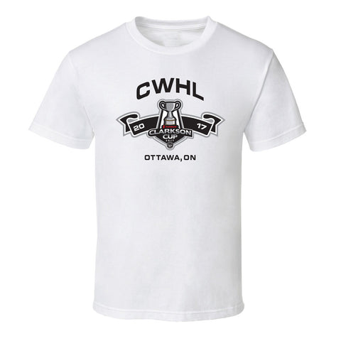 Clarkson Cup Adult White T-Shirt