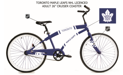 "Maple Leafs Adult 26"" Coaster Bike"