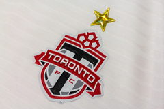 Toronto FC Adidas Men's Authentic Custom L/S Jersey - White