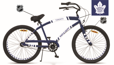 "Maple Leafs Adult 7-Speed 26"" Cruiser Bike"