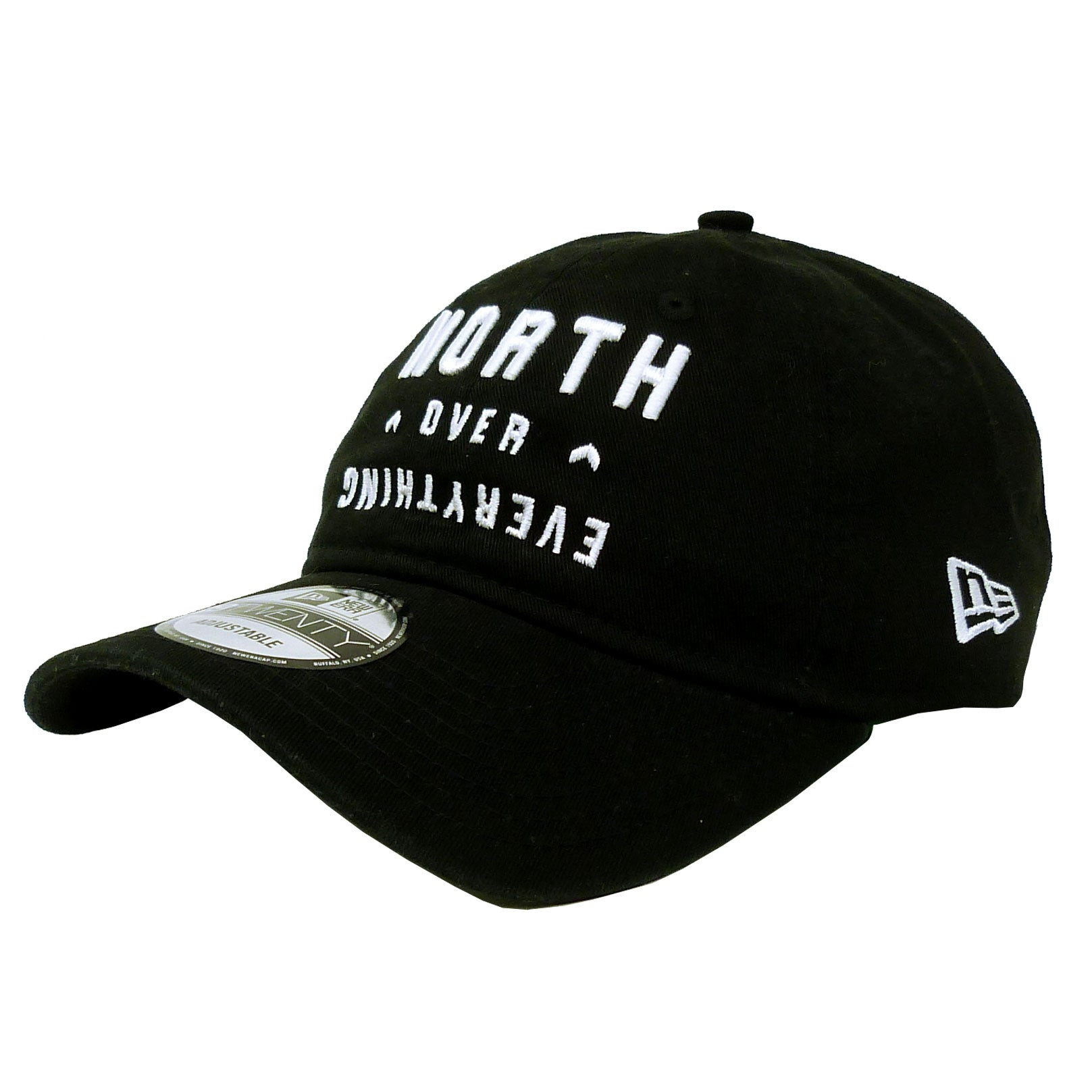 d0f798a17d8 Toronto Raptors Adult North Over Everything 920 Woven Strapback Hat ...