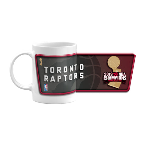 Raptors 2019 NBA Champs 11oz Sublimated Coffee Mug