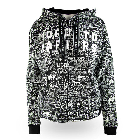Raptors DKNY Ladies Urban Hoody
