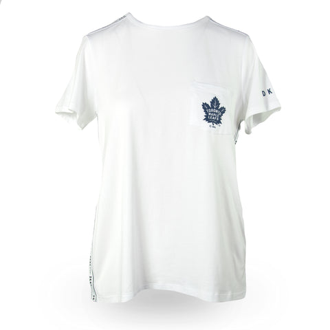 Maple Leafs DKNY Ladies Donna Sporty Tee