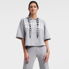 Raptors DKNY Ladies Emma Short Sleeve Hoody