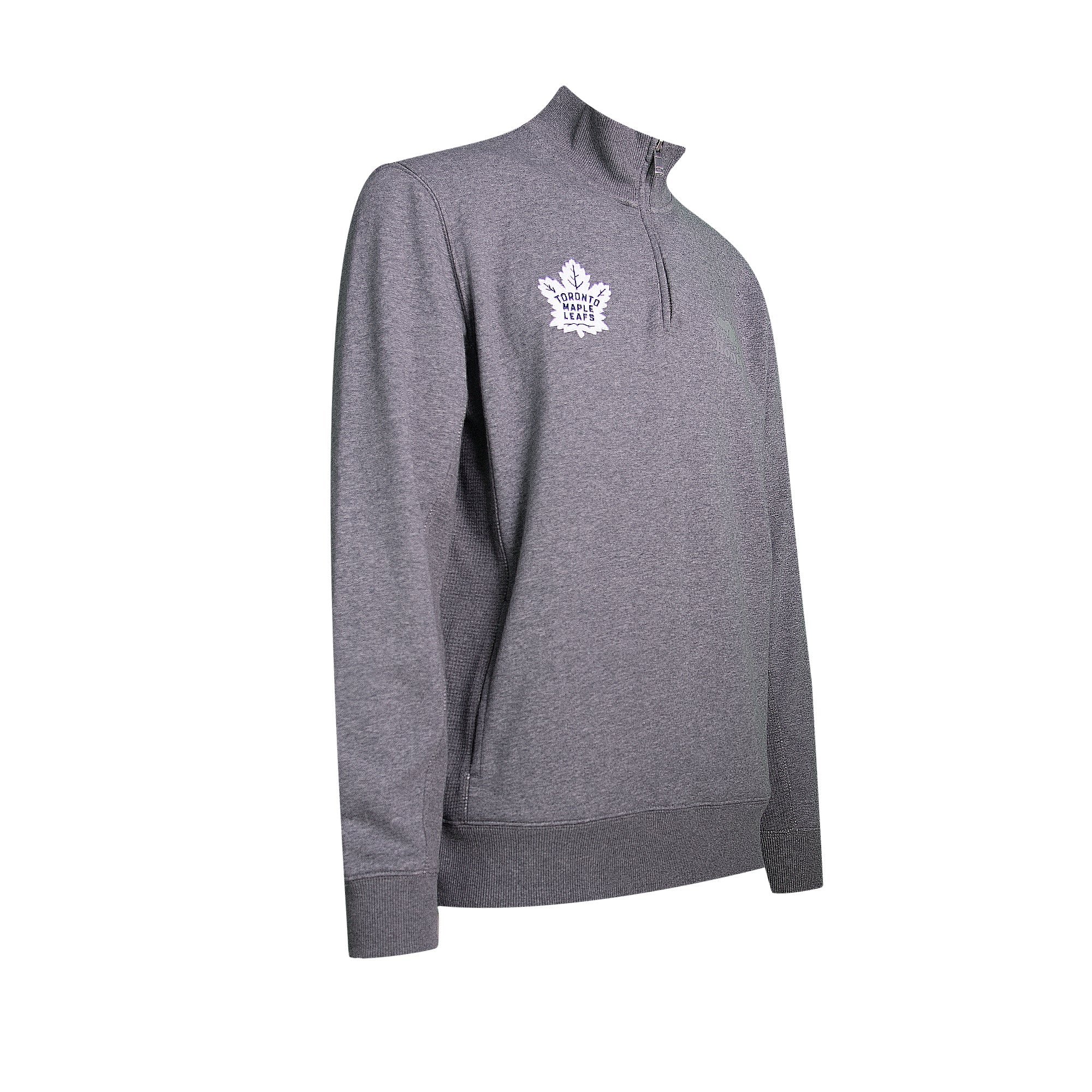 Maple Leafs Roots Men's Seasonless 1/4 Zip Sweater