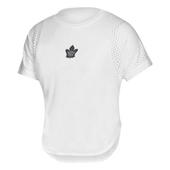 Maple Leafs Adidas Ladies Culture Mesh Tee