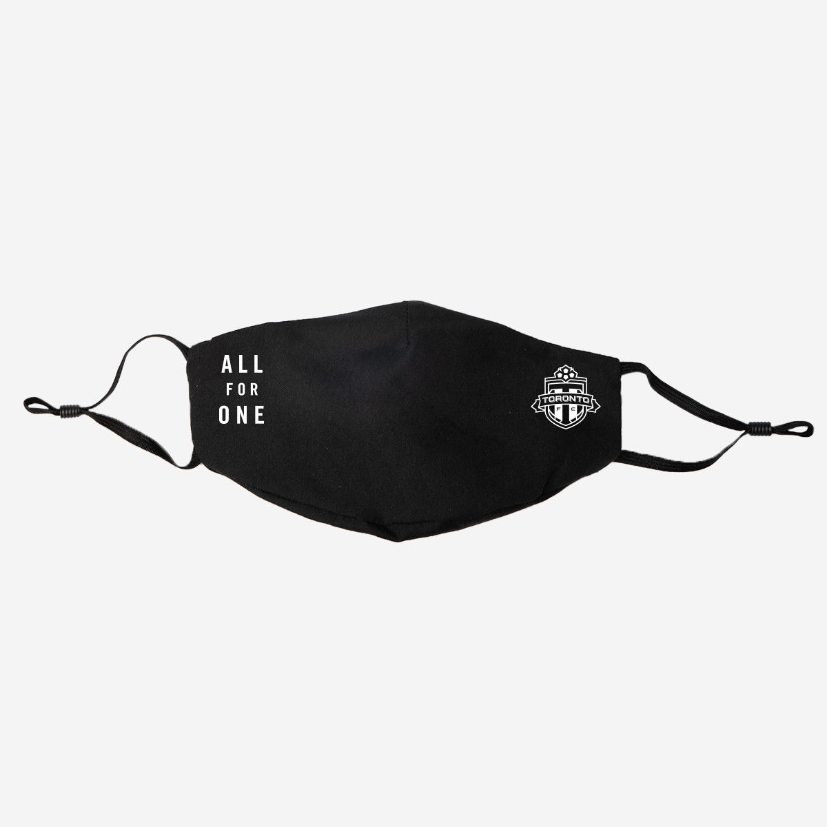 Toronto FC Peace Collective Adult All For One Cloth Face Covering - Black