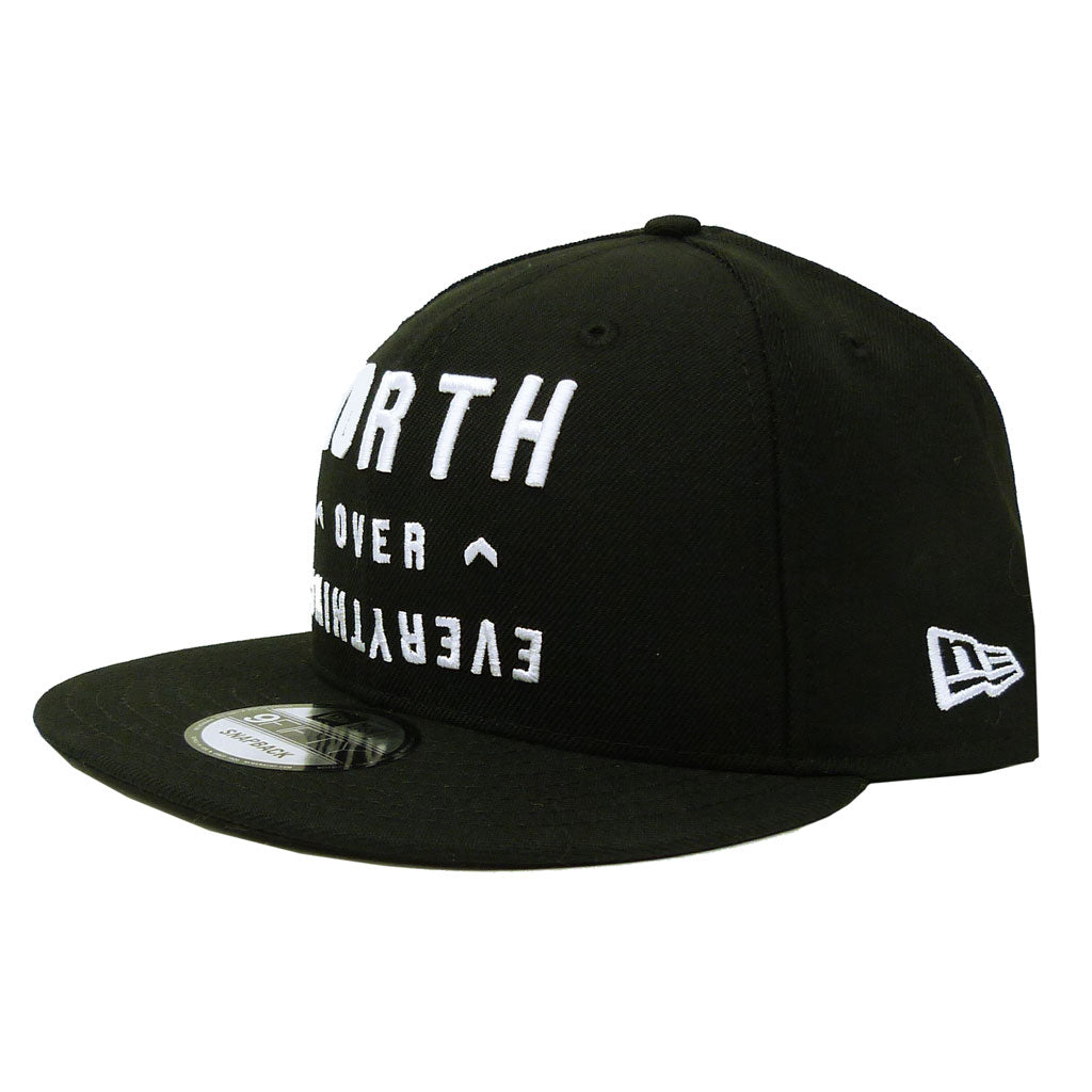 Toronto Raptors Adult North Over Everything 950 Flatbrim Snapback Hat