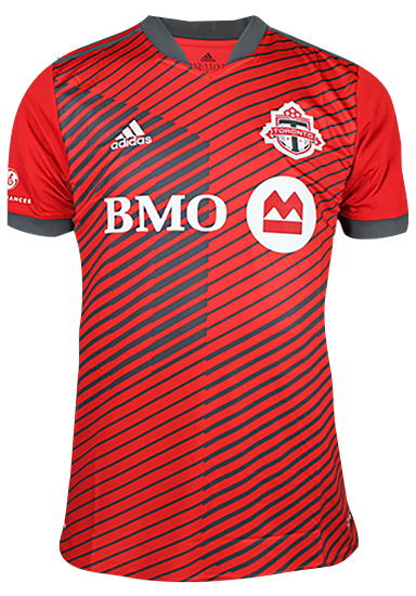 Toronto FC Adidas Youth Replica 2021 A41 Home Jersey - BRADLEY