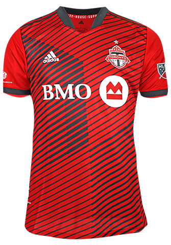 Toronto FC Adidas Men's Authentic 2021 A41 Home Jersey - POZUELO