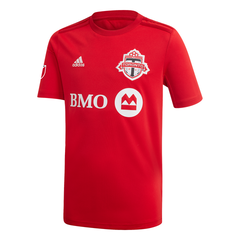 Toronto FC Adidas Youth 2020 Replica Home Jersey - CUSTOM