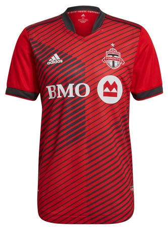 Toronto FC Adidas Men's Authentic 2021 A41 Home Jersey - CUSTOM