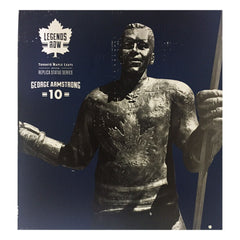"Toronto Maple Leafs 10"" Armstrong Legends Row Bronze Replica Figurine - shop.realsports - 2"