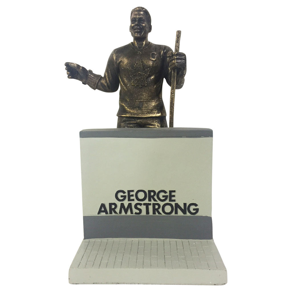 "Toronto Maple Leafs 10"" Armstrong Legends Row Bronze Replica Figurine - shop.realsports - 1"