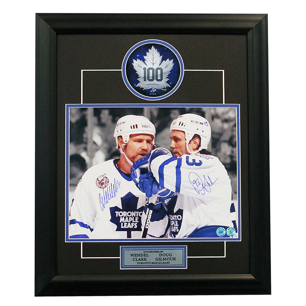 Clark and Gilmour Duo Signed 11 x 14 Photo Framed