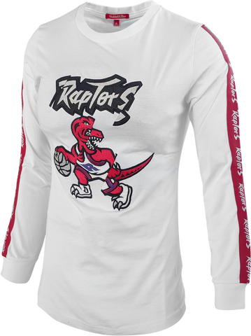 Raptors Mitchell & Ness Ladies HWC Cut Long Sleeve