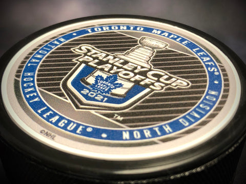 Maple Leafs 2021 Stanley Cup Playoffs Participants Puck