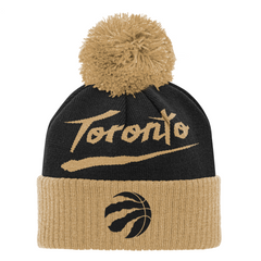 Raptors NBA Youth 2020 City Cuffed Pom Toque