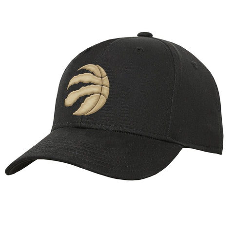 Raptors NBA Youth Precurved Logo Snapback