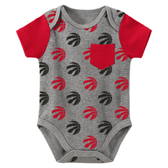 Raptors NBA Infant Little Baller 2-Piece Creeper Set