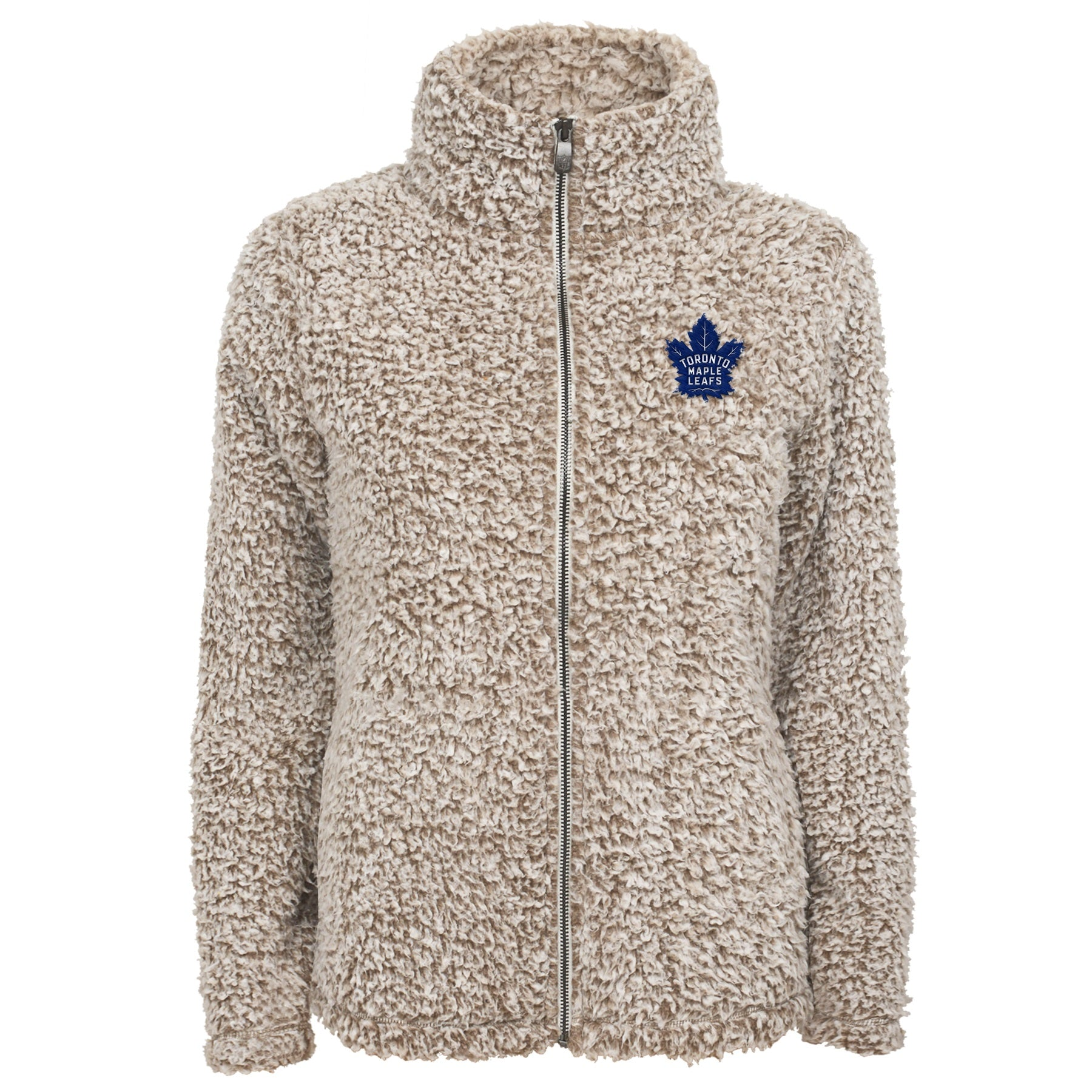 Maple Leafs Kids Time Honoured Teddy Fleece Full Zip Hoody