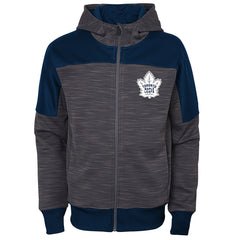 Maple Leafs Youth Sleek Essentials Full Zip Hoody