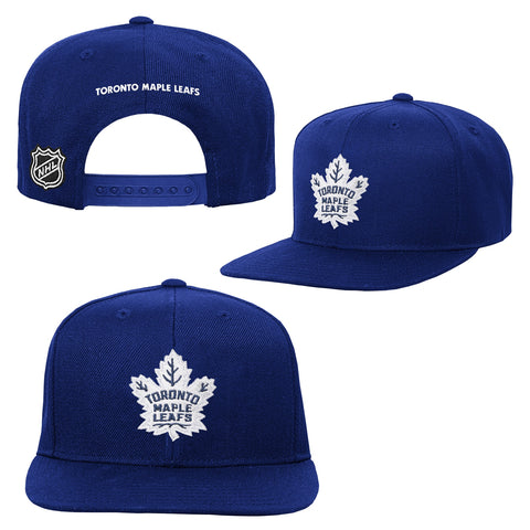 Maple Leafs NHL Youth Solid Snapback Hat