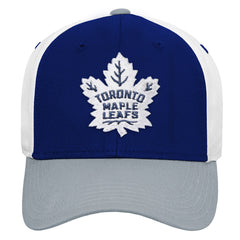 Maple Leafs Youth Colour Blocked Adjustable Hat
