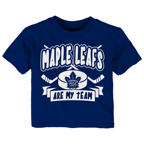 Maple Leafs Toddler Bubble Trouble Tee