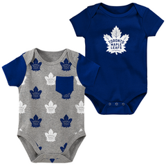 Maple Leafs Infant Little Shooter 2-Piece Creeper Set