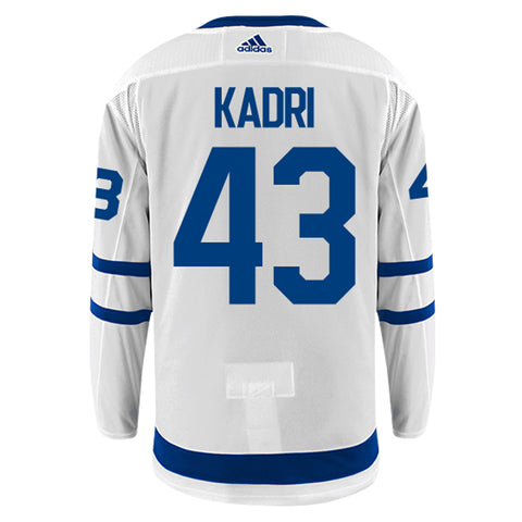 Toronto Maple Leafs Adidas Authentic Mens KADRI Away Jersey